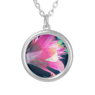 Pretty Pink Flower Necklace Necklaces