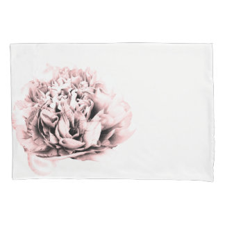 Pretty pink flower pillowcase