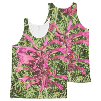 Pretty Pink Flowers All-Over Print Tank Top