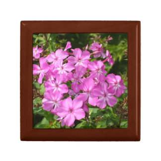 Pretty Pink Flowers Small Square Gift Box