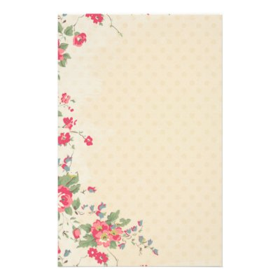 flower stationary paper canre klonec co