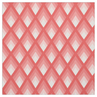 Pretty Pink Geometric Print Fabric