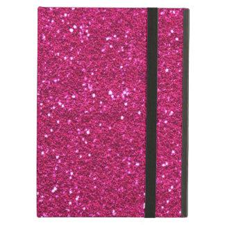 Pretty pink glitter iPad Air Case