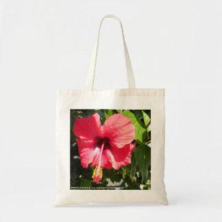 Pretty Pink Greek Flower Tote