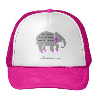 pretty - Pink h Hats