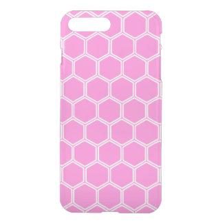 Pretty Pink Hexagon 1 iPhone 7 Plus Case