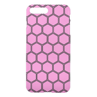 Pretty Pink Hexagon 3 iPhone 7 Plus Case