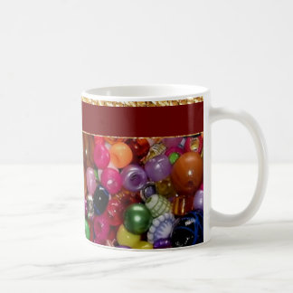 Pretty Pink Jewelry Beads Coffee Mugs