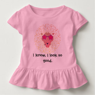 Pretty pink Leon Toddler T-Shirt