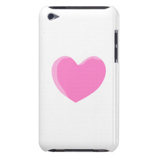 Pretty Pink Love Heart. iPod Touch Case