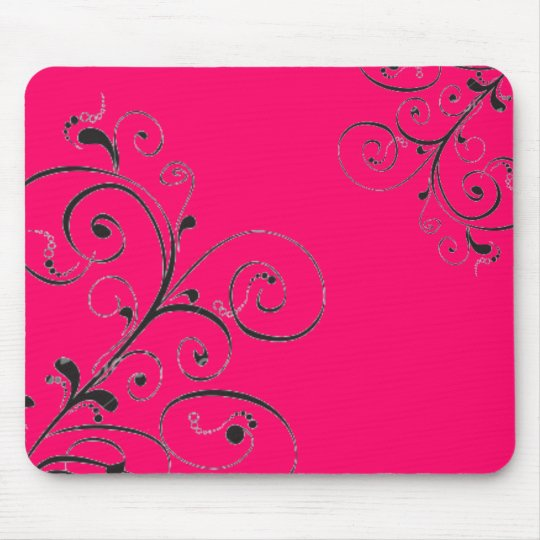 pretty pink mouse mat