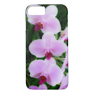 Pretty Pink Orchids Photography iPhone Case