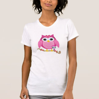 Pretty Pink Owl Shirts