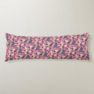 Pretty Pink Paisley Pattern Body Cushion