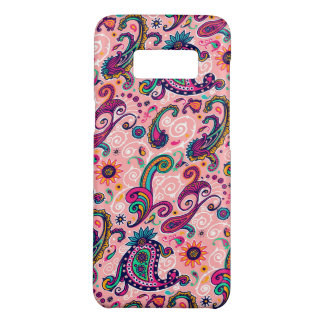 Pretty Pink Paisley Pattern Case-Mate Samsung Galaxy S8 Case