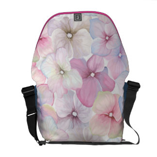 Pretty Pink Pastel Messenger Bag