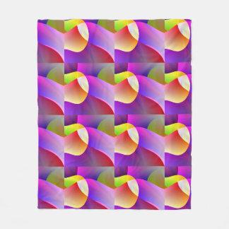 Pretty Pink Pattern Fleece Blanket