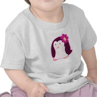 Pretty Pink Penguin T-shirt