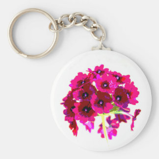 Pretty Pink Posies Keychains
