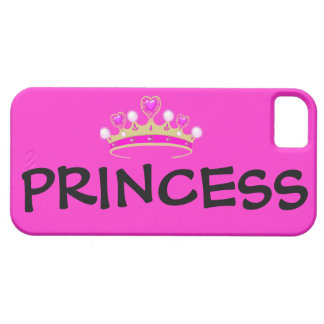 Pretty Pink Princess iPhone Case 5c/5s iPhone 5 Covers