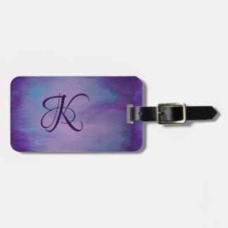 Pretty | Pink Purple Blue Cute Chic Cloud Luggage Tag