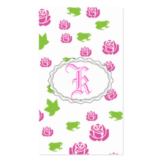 Pretty Pink Rose Pack Of Standard Business Cards