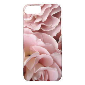 pretty pink rose petals macro photo art iPhone 7 case