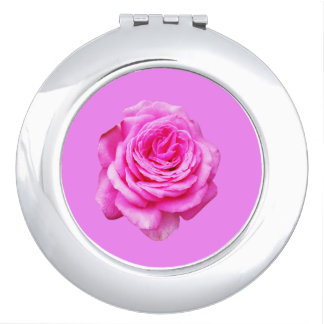 Pretty Pink Rose, Pink Mirrors For Makeup