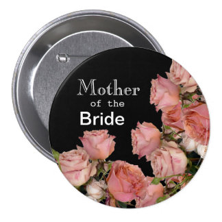 Pretty Pink Roses 7.5 Cm Round Badge