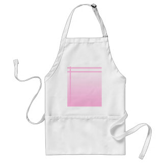 Pretty Pink. Simple Elegant Design. Standard Apron