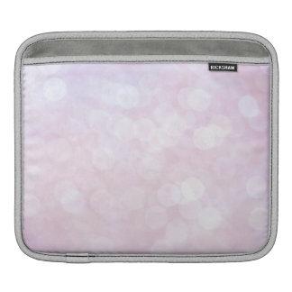 Pretty Pink Sparkly texture (matt) iPad Sleeve