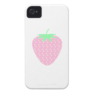 Pretty Pink Strawberry. iPhone 4 Cover