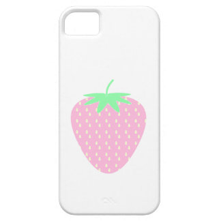 Pretty Pink Strawberry. iPhone 5 Cases
