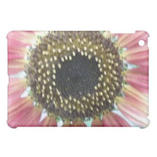 Pretty Pink Sunflower  iPad Mini Cover