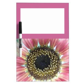Pretty Pink Sunflower Memo Board
