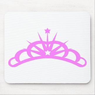 Pretty Pink Tiara Mouse Pads