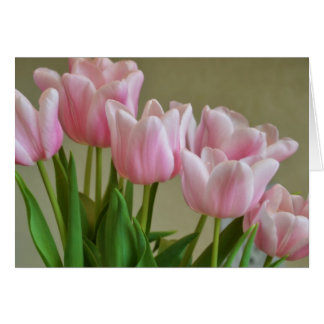 Pretty Pink Tulips Cards