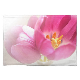 Pretty Pink Tulips Place Mat