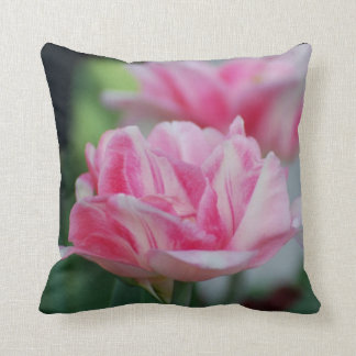 Pretty Pink Tulips Pillows