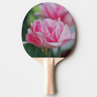 Pretty Pink Tulips Ping Pong Paddle