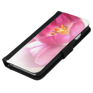 Pretty Pink Tulips iPhone 6 Wallet Case
