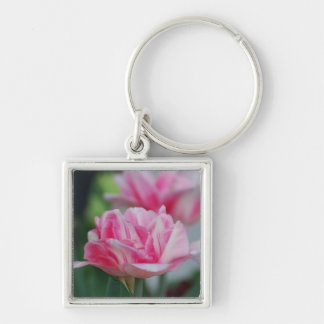 Pretty Pink Tulips Key Chains