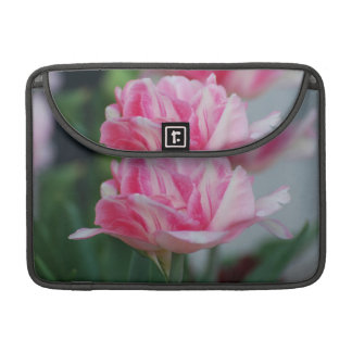 Pretty Pink Tulips Sleeves For MacBook Pro