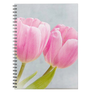 Pretty Pink Tulips Notebook