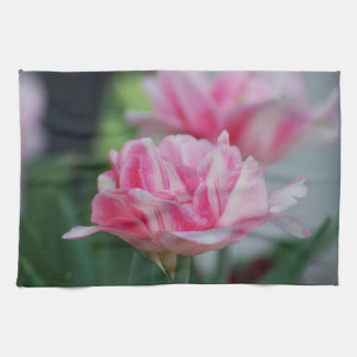 Pretty Pink Tulips Hand Towel
