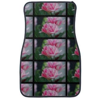 Pretty Pink Tulips Floor Mat