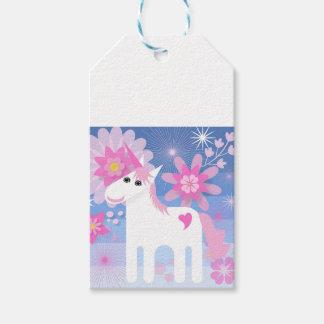Pretty Pink Unicorn Gift Tags