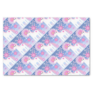 Pretty Pink Unicorn Tissue Paper