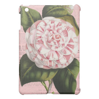 Pretty Pink Vintage Camellia Flower French Elegant Cover For The iPad Mini