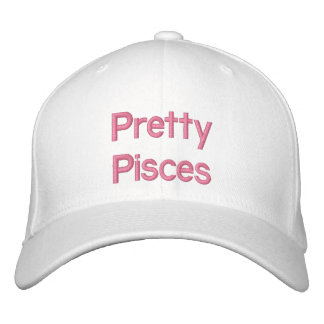 Pretty Pisces Embroidered Hat
